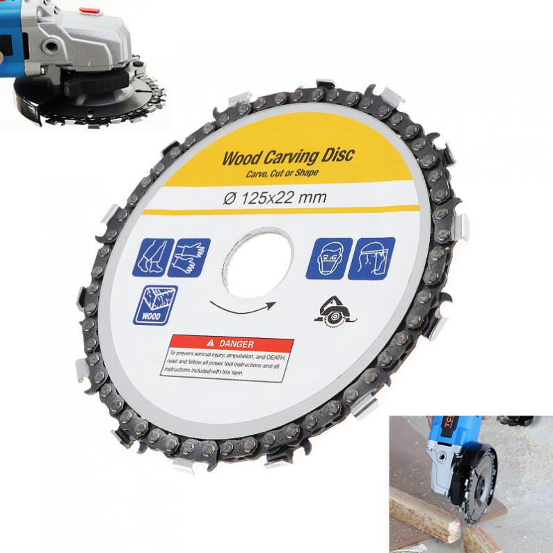 Circular Saw Blade 125mm Grinder Saw Disc Carbide Tipped Wood Cutting Blade Woodworking For Angle Grinder Power Tool Accessories
