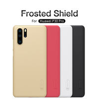 Voor Huawei P30 Case P30 Pro Cover Huawei P30 Lite Nova 4e Case Nillkin Super Frosted Shield Hard Pc Back cover Voor Huawei P30PRO