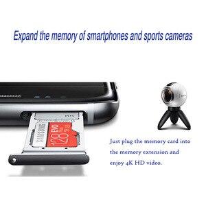 Image 4 - סמסונג זיכרון כרטיס EVO בתוספת 4K Ultra HD מיקרו SD 256GB 128G 64GB Class10 MicroSD כרטיס c10 UHS I Trans פלאש MicroSD כרטיס