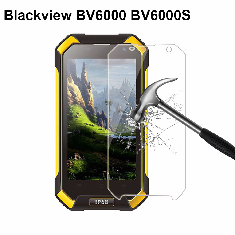 Blackview BV6000 2.5D Tempered Glass 4.7 inch 100% Premium Screen Protector Front LCD Film For Blackview BV6000S BV 6000 Phone(China)