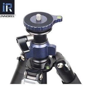Image 3 - MT70 Video Camera Statief Snelle Flip Gesp Vloeistof Hoofd Panoramisch Half Bal Kom Monopod Stand Base Voor Digitale Dslr Camcorder