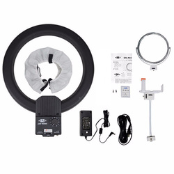 NanGuang CN-R640 R640 Photography Video Studio 640 LED Continuous Macro Ring Light 5600K Day Lighting + Tripod + Holder + Mirror