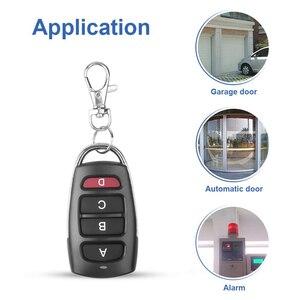 Image 2 - KEBIDU Controller Wireless Clone Switch Cloning Copy 433 MHZ Gate Garage Door Control Duplicator Portal Remote Control