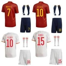 National team home stadium football suit+Socks Unisex Kids Soccer DIY Customize