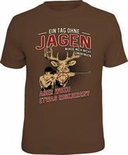 T-shirt Drole hunter, un Jour Sans manches, Cadeau idéal