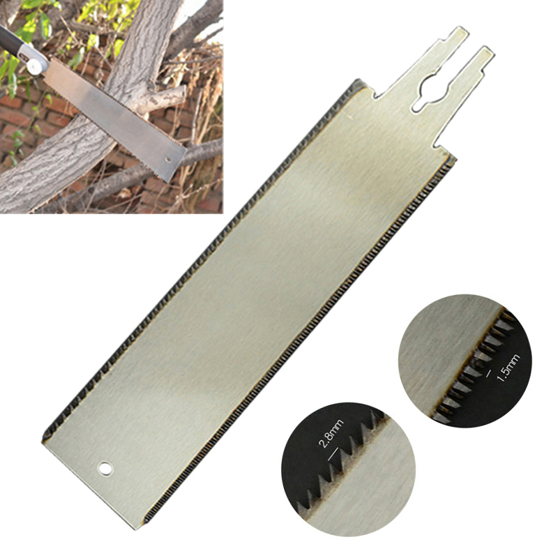Double Sided Blade Razor Saw Blade Japanese Style Pull Saw Blade Hardwoods Pitch For Wood Cutting Gardening Tool