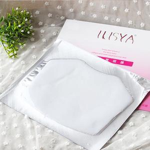 ILISYA шейный коврик для предотвращения морщин шеи увлажняющая маска для шеи коллагеновая повязка на шею против морщин против старения удален...