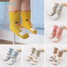 Animal-Socks Toddler Kids Anti-Slip Newborn Baby Girls Boys Cartoon Cute 3D Soft