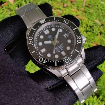 ADDIE SDIVEWithout bottom cover 300m Ceramic Bezel Dive Watch C3 automatic Men's watch Japan NH35 Mechanical Diving - discount item  58% OFF Men's Watches