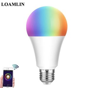 9W E27/E26/B22 RGBW WiFi Smart