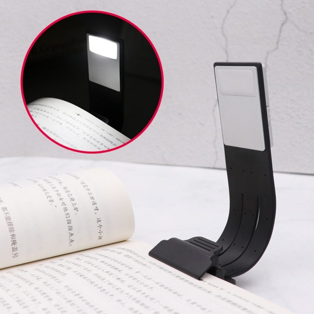 LED Book Light Bookmark Reading Lamp Thin Lighting Flexible E-read Book Lamp For Kindle Book Paper