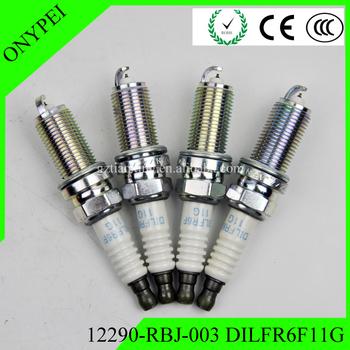 4x 12290-RBJ-003 DILFR6F11G Iridium świeca zapłonowa dla 2010 2011 honda insight 1 3 DILFR6F-11G 12290RBJ003 12290 RBJ 003 DILFR6F 11G tanie i dobre opinie ONYPEI Iraurita Mieszkanie Średni Made In China Iridium Power Spark Plug 100 NEW Standard Dual Iridium High Quality Auto Ignition System