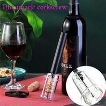 KeychainNeedle Tipo Pneumático Ferramentas Garrafa Saca-rolhas Abridor De Vinho Saca-rolhas de Vinho Saca-rolhas de Vinho Vin Caneca De Vidro