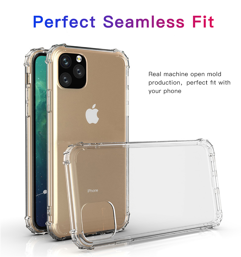 !ACCEZZ For iPhone 11 Case 2019 For iphone 11 Pro Max New Soft Cases Transparent Protection Back Cover Mobile Phone Shell Coque (2)