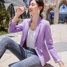 Chaqueta y abrigo para mujer, chaqueta de color púrpura, negro y verde, chaqueta de talla grande 3xl, abrigos formales, primavera y otoño, 2021