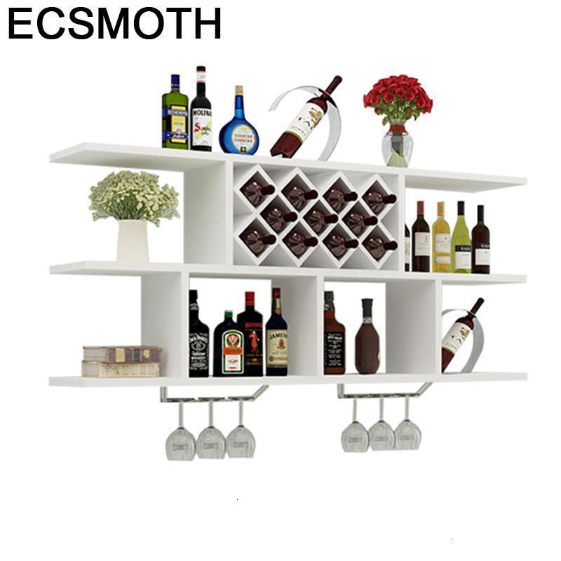 Salon Mobilya Cocina Table Meja Cristaleira Storage Adega Vinho Shelves Display Mueble Commercial Furniture Bar Wine Cabinet