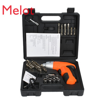 Rechargeable Electric Drill Electric Screwdriver Electric Tool Electric Screwdriver Multi-Function Household Pistol Lithium xltown 88vf impact drill multi function electric screwdriver rechargeable lithium battery household hand drill cordless drill