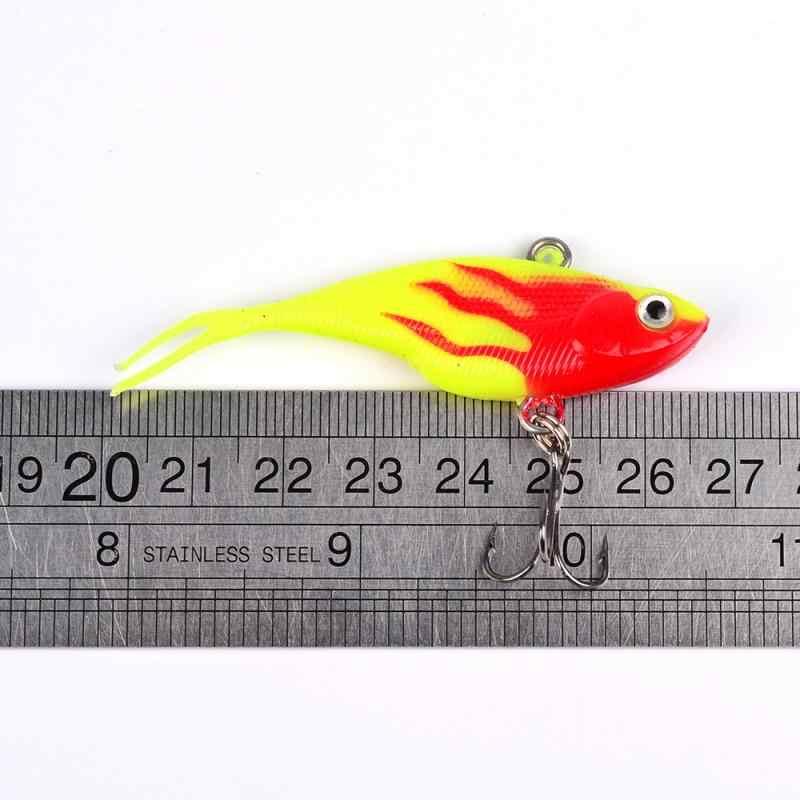 1PC 6.8CM metalowa przynęta ołowiana 10g metalowa przynęta na ryby oprawa wędkarska sum głębinowych