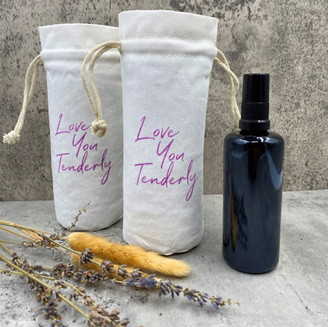 cotton drawstring bag small fabric bag filled with dried lavender flowers 10pcs=1 set-Free 2pcs- send you 12pcs