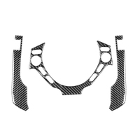 Dash Steering Wheel Trim Stickers Carbon Fiber Easily Installation Personal Car Elements for Nissan GT R R35 08 16