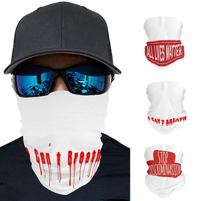 Multifunction Face Mask Quick-drying Breathable Ice Silk Sport Cycling Skiing Hiking Bandana Scarf Men Women Face Scarf Towel 1