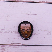 Dr. Hannibal Lecter masque broche Silence des agneaux broche Chesapeake Ripper broche(China)