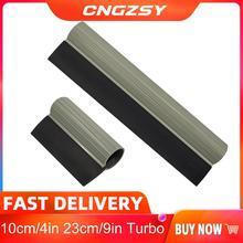 4/9in Black Turbo Handle Squeegee Vinyl Film Window Tint Tool Water Snow Shovel Rubber Tinting Snow Scraper PPF Application B70