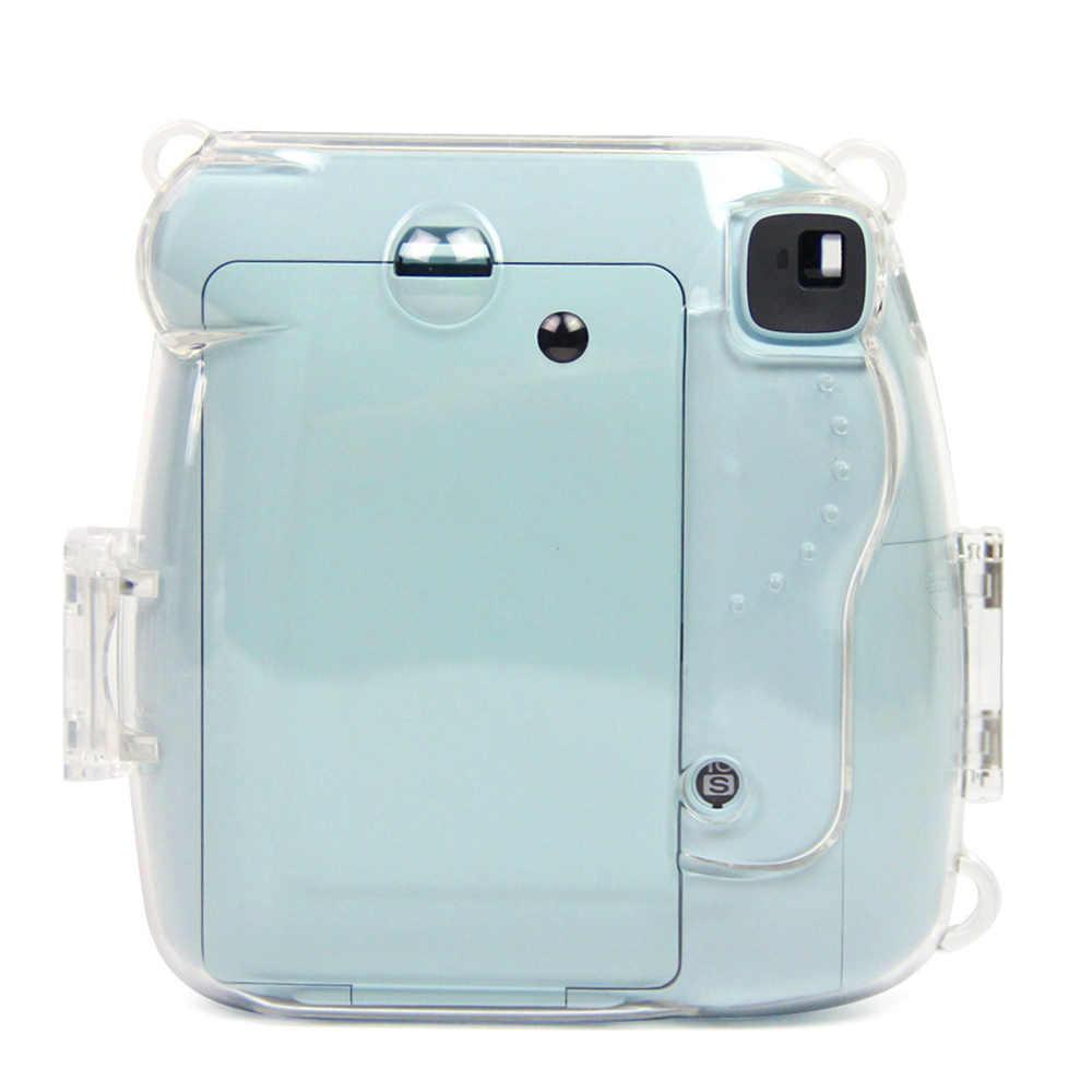 Besegad capa protetora, case protetor, capa polaroid, fujifilm, instax, mini 9, 8 + 8 câmeras instantâneas, capa transparente caso fundas