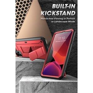 """Image 5 - Para o iphone 11 pro caso 5.8 """"(2019) sucase ub pro corpo inteiro áspero coldre caso capa com built in protetor de tela & kickstand"""