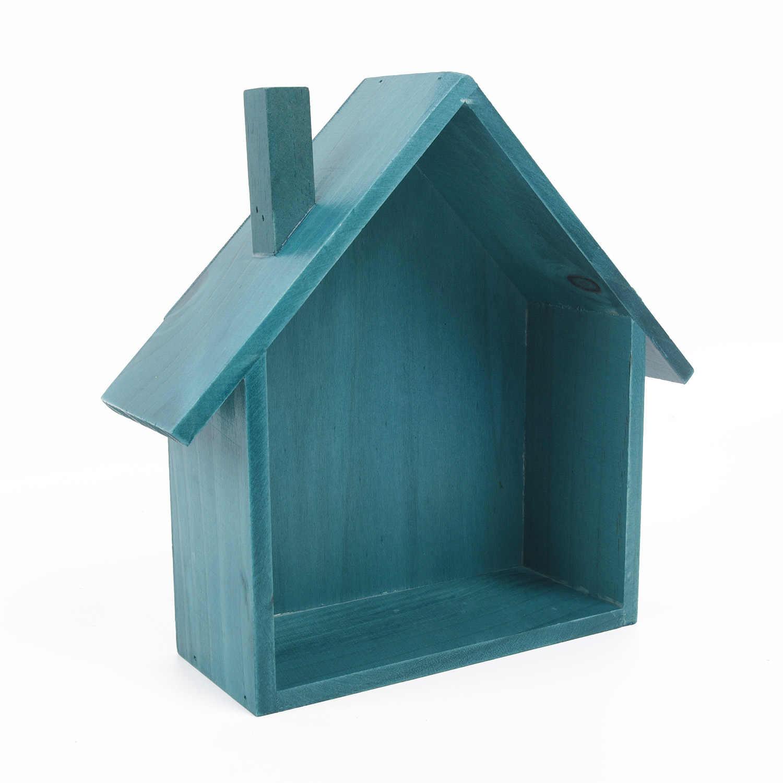 1 estante de madera 25*8,5*23 cm la parte inferior plana se puede colocar directamente en la pared de escritorio caja de almacenamiento para colgar