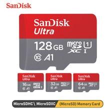 SanDisk – carte mémoire Micro SD A1, 16 go/32 go/64 go/128 go, SDXC/SDHC, 98 mo/s, pour téléphone et ordinateur portable