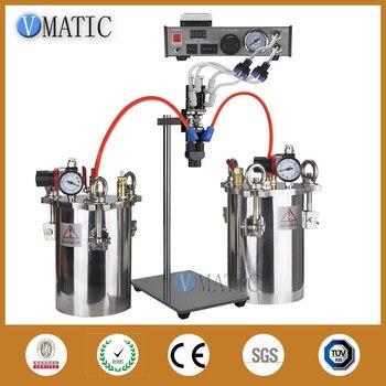 Dispensador de pegamento semiautomático de alta calidad AB mezcladora de pegamento líquido, máquina dispensadora de pegamento, equipo para Resina epoxi