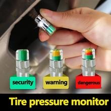 Car Tire Tire Pressure Warning Cap Tire Pressure Visual Monitoring Tire Pressure Cap Universal Tire Pressure Monitoring Cap цены