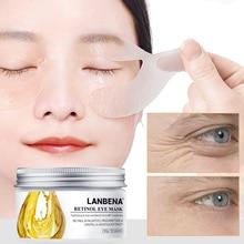 Lambena маски для глаз ретинол увлажняющие против морщин Твердые подтяжки Treatmen темные круги Отечность анти старения патчи для глаз колодки