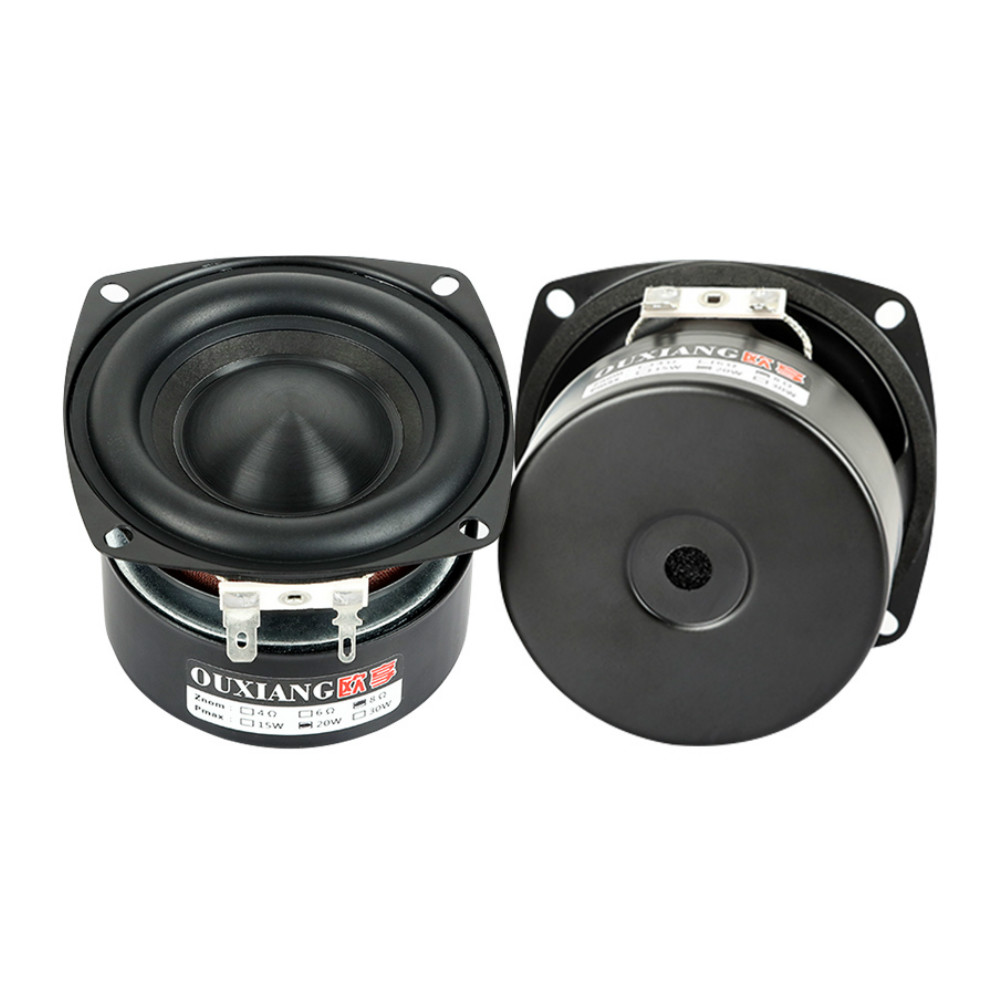 AIYIMA 2Pcs 3 Inch woofer Speakers Driver 4 8 Ohm 25W Audio Bass Loudspeaker DIY Home Theater Sound Amplifier Speaker Unit