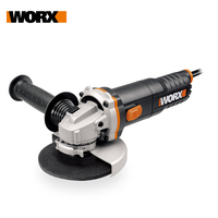 WORX 860W Grinder WX712 Angle Grinder 125mm Polisher Bulgarian Corner Networked Home DIY Power Tools Lightweight Free Shipping