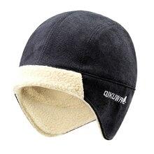 גברים מפציץ כובע הטוב ביותר טייס טרופר טייס כובע פו קשמיר כובע Ushanka הרוסי חורף Earflap צמר הצייד שלג סקי כובע