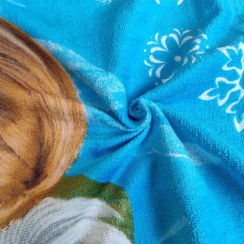 Disney Cartoon Carino Pupazzo di Neve Olaf Congelato Del Bambino Telo da bagno per I Bambini Delle Ragazze Dei Ragazzi del Regalo Tovagliolo di Spiaggia Doccia Quadrato Asciugamano 60x120cm