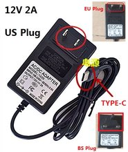 12V 2A TYPE-C Charger US Plug Voor CHUWI Hi13 Apollo SurBook Mini Surbook 12.3 inch MIX Plus Tablet PC(China)