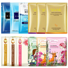 BIOAQUA plant face masks snail honey rose hyaluronic acid facial mask Anti-Aging Moisturizing Oil-control skin care