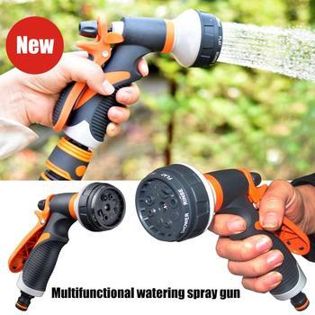 цена на Multifunctional Garden Watering Spray Gun Household Car Wash Nozzle Water Gun Garden Watering Spray Gun