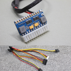 Image 1 - 200W 24pin DC DC ATX PSU PICO BOX DC 12V Pico ATX Switch Peak PSU MINI ITX DC to Car ATX PC Power Supply wide input Computer
