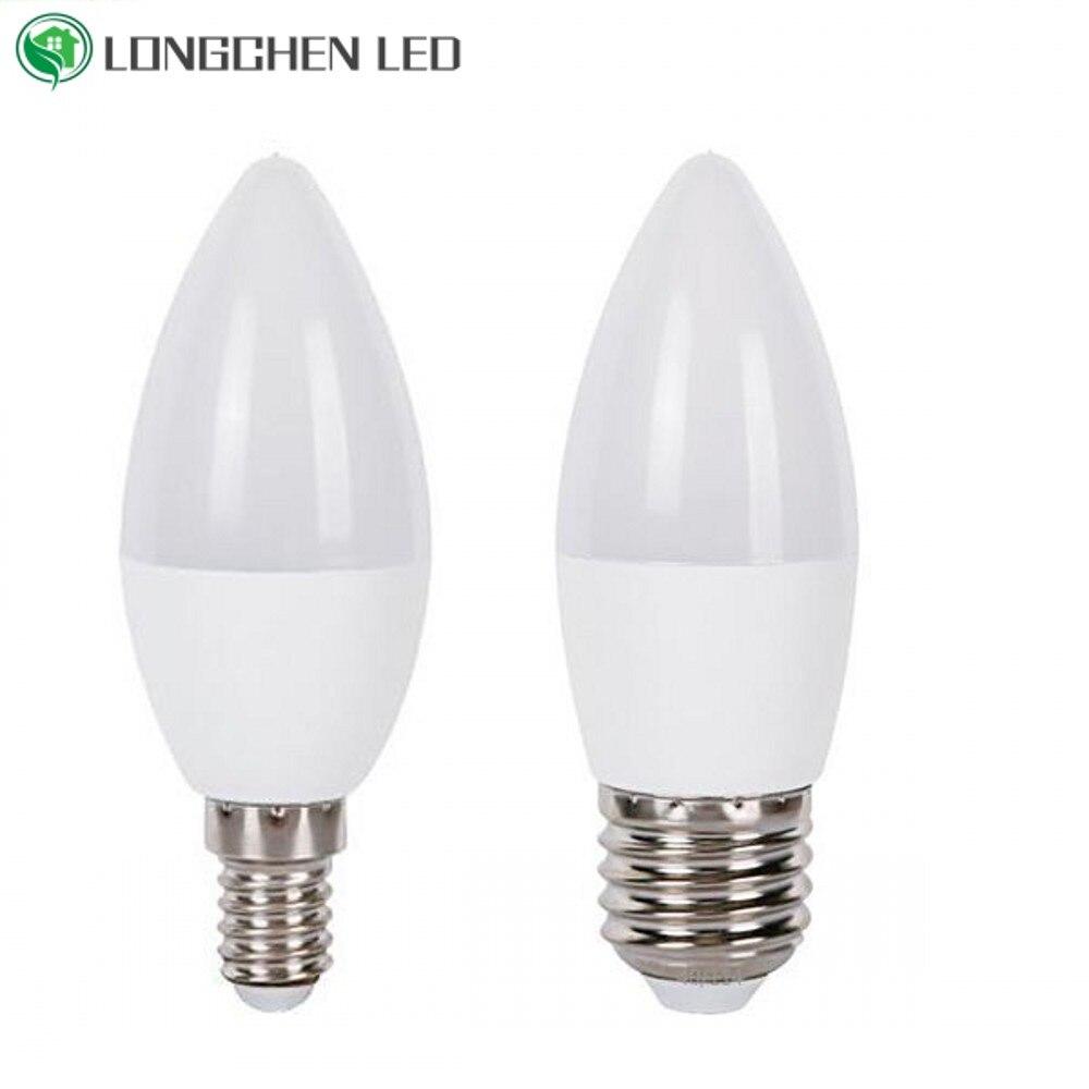 E27 E14 светодиодный лампы в форме свечи лампы в форме светодиодный потолочный светильник в помещении светильник 220V-240V 7 ваттов 9 ваттов светод...