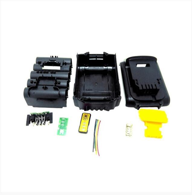 Rechargeable Batteries For Dewalt 18V 20V Battery Replacement Plastic Case 3.0Ah 4.0Ah DCB201 DCB203 DCB204 DCB200 Li-Ion Batter