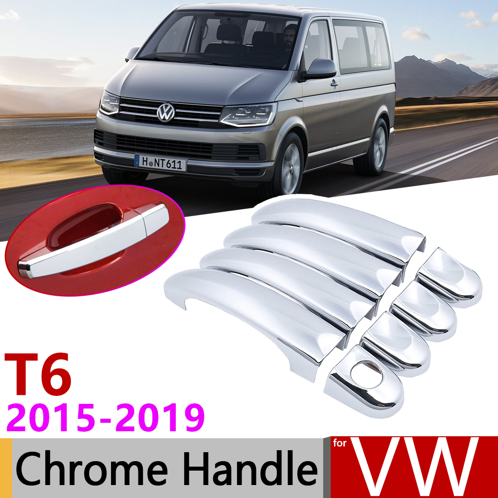 VW T6 Transporter 2015UP Carbon Fibre Wing Mirror Cover 2Pcs