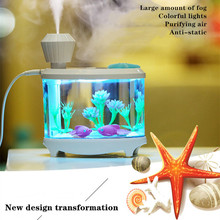 460ml USB Portable Air Humidifier Aroma Oil Diffuser Atomizer Ultrasonic Humidificador Aromatherapy Purifier Capacity Car Home