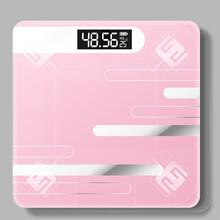 Łazienka ciała wagi podłogowe szkło inteligentne wagi elektroniczne USB ładowanie LCD wyświetlacz ciała ważenie cyfrowa waga do kontroli masy ciała tanie tanio DIGITAL Szkło hartowane Plac 200 kg Wagi pomiaru Stałe