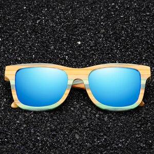 Image 3 - Женские и мужские солнцезащитные очки GM, поляризационные деревянные очки для скейтборда, UV400