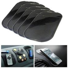 Sticky-Pad Anti-Slip-Mat Car-Dashboard Cell-Phones Silica-Gel Magic Black for Sunglasses