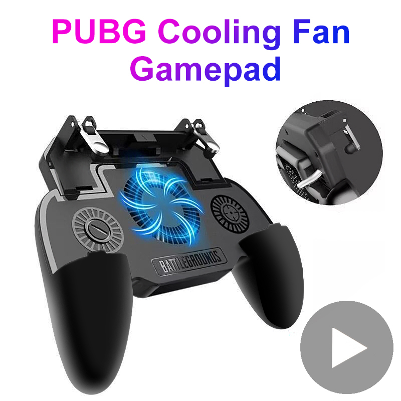 Game-Pad Trigger Cell-Phone Mobile Joystick Smartphone-Controller Gaming PUBG L1 R1 Android title=